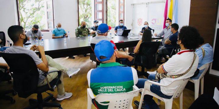 REUNIÓN CON EL COMITÉ MUNICIPAL DEL PARO